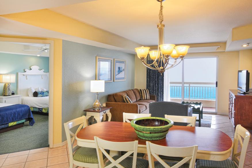 Wyndham Royal Vista, Dining/Living Area, Balcony & Bedroom