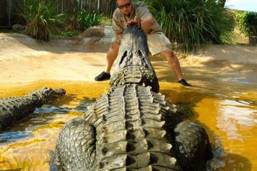 Gator Jon with Cannibal