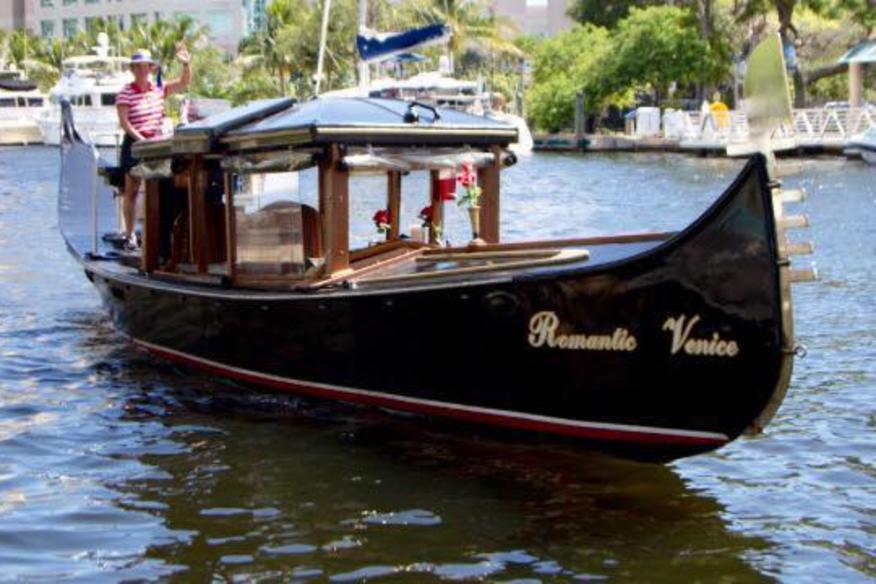 Gondolier Martha And Venice