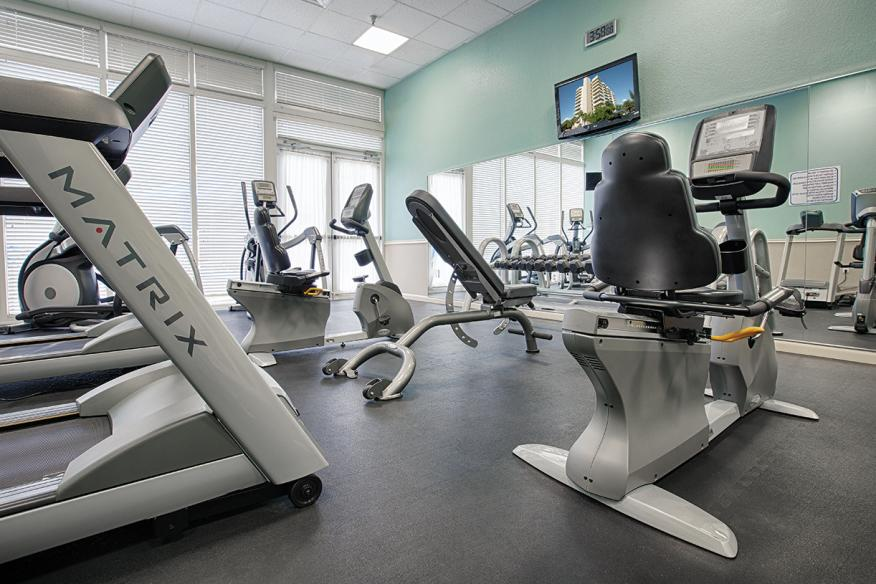 Pompano Beach, FL - Wyndham Santa Barbara Resort, Fitness Center