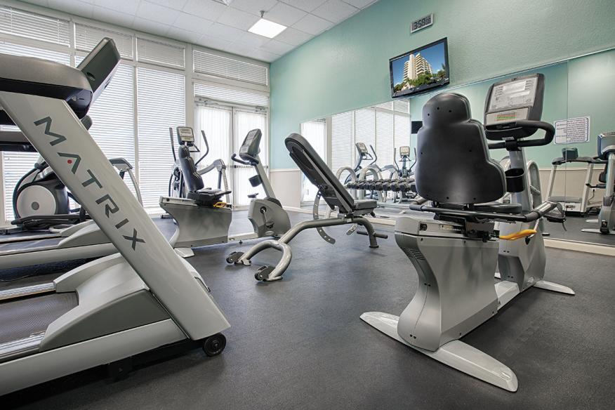 Pompano Beach, FL - Wyndham Santa Barbara Resort, Fitness Center