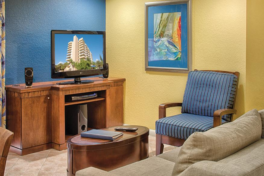 Pompano Beach, FL - Wyndham Santa Barbara Resort, Living Area