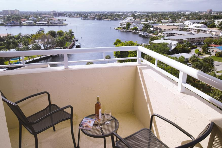 Pompano Beach, FL - Wyndham Santa Barbara Resort, Balcony