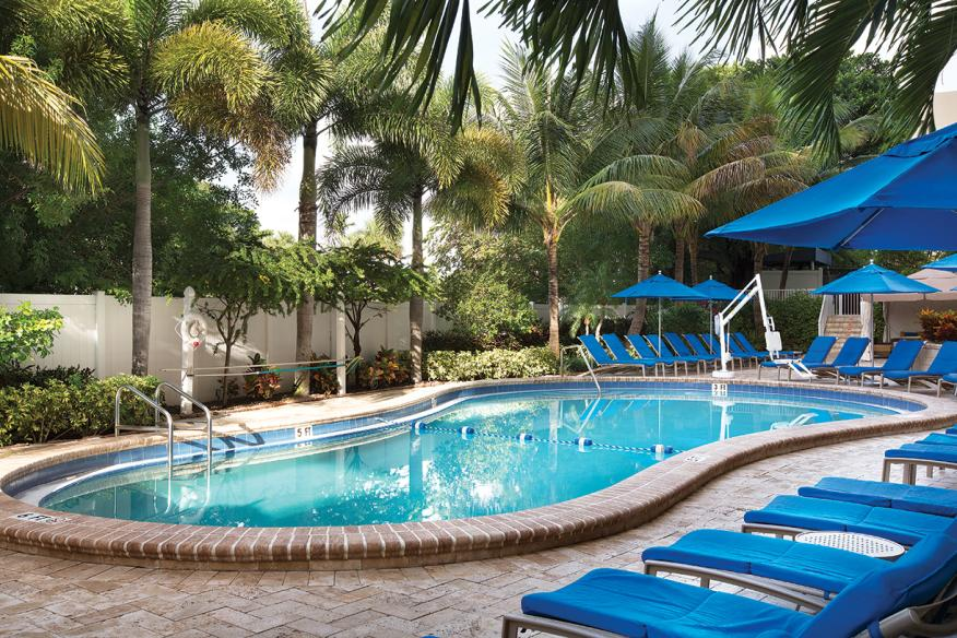 Pompano Beach, FL - Wyndham Santa Barbara Resort, Outdoor Pool