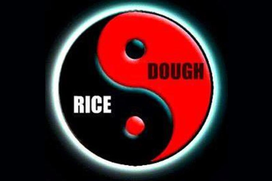 rice and dough