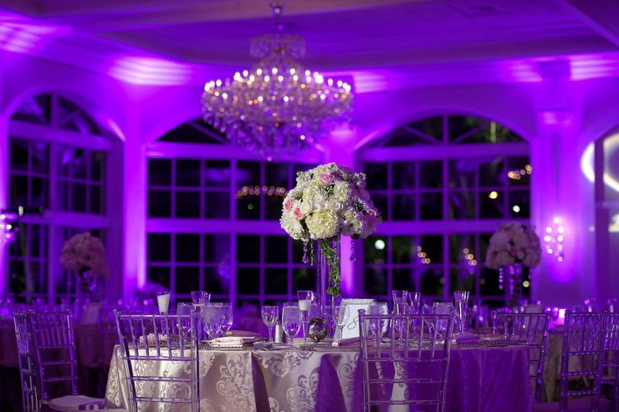 lighting for indoor ceremony