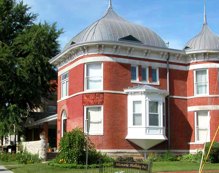 Charles Curtis house