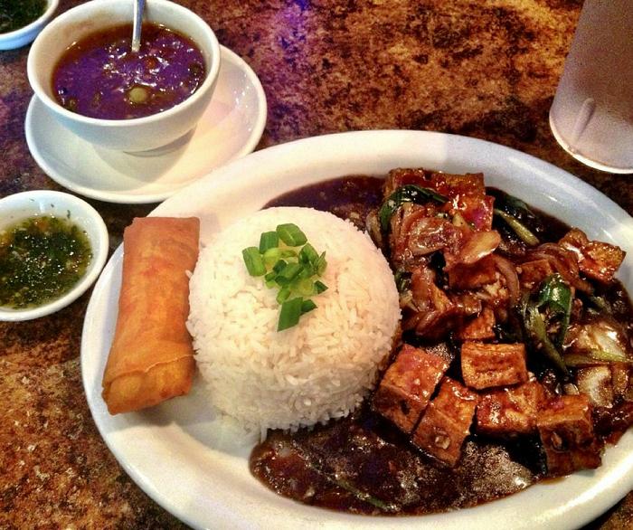Tofu lunch
