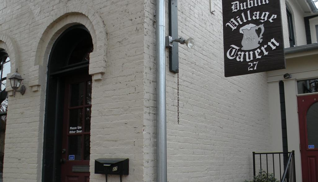 Dublin Village Tavern Sign