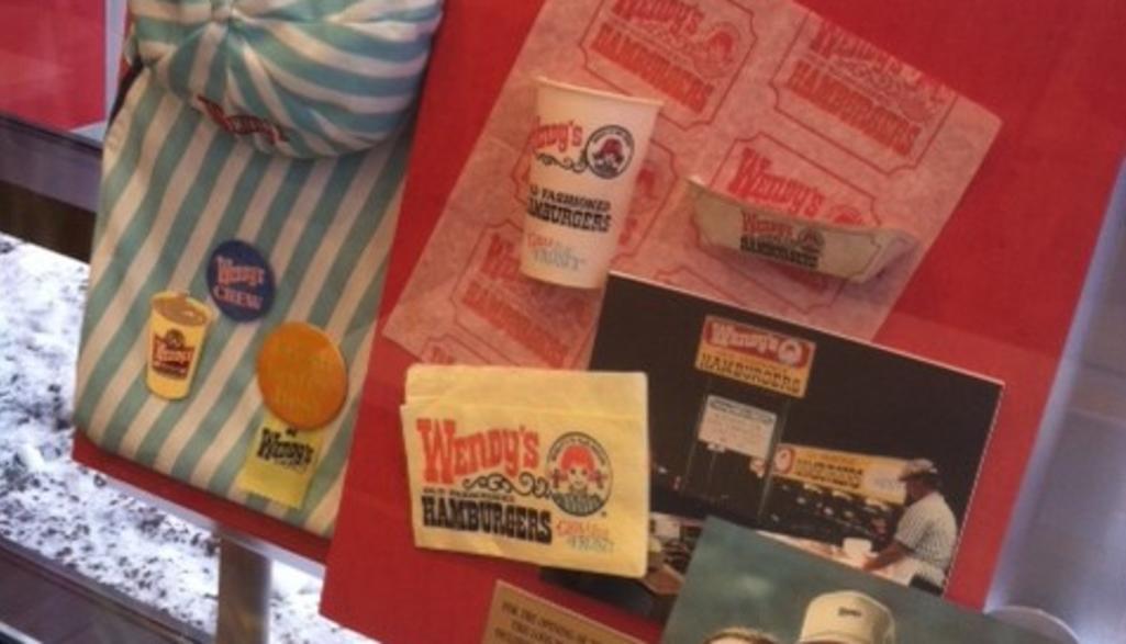 Wendy's Flagship Store Memorabilia