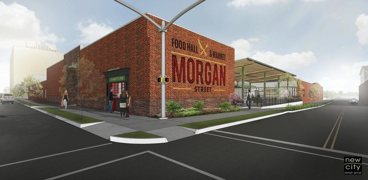 Morgan Street Food Hall Rendering