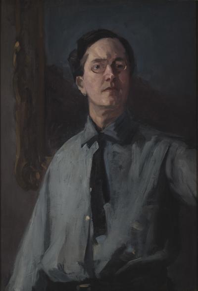 John Sloan Self Portrait in Gray
