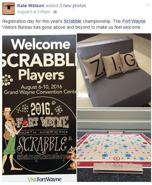 SCRABBLE Championship PR 3 - Fort Wayne, IN