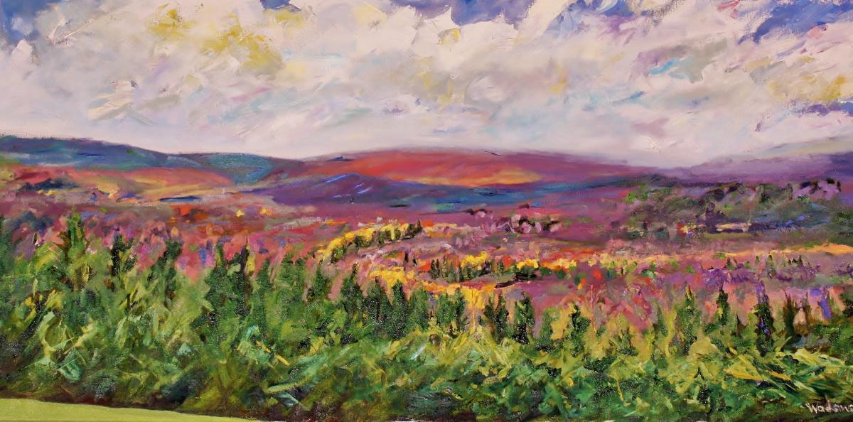 Laurel Highlands painting