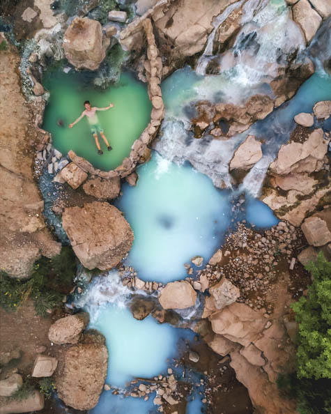 Fifth Water Hot Springs