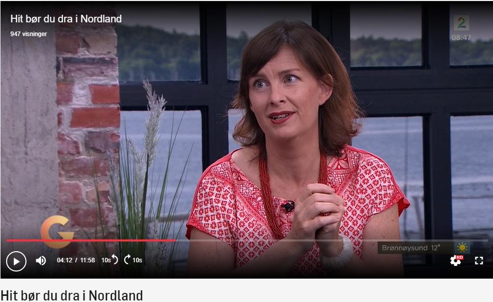 Christine Baglo på God Morgen Norge