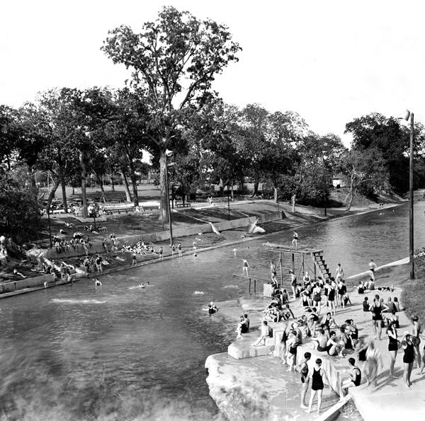 Historic Barton Springs Pool