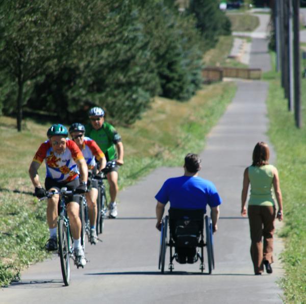 Trail Ride - Wheelchair - Fort Wayne, IN