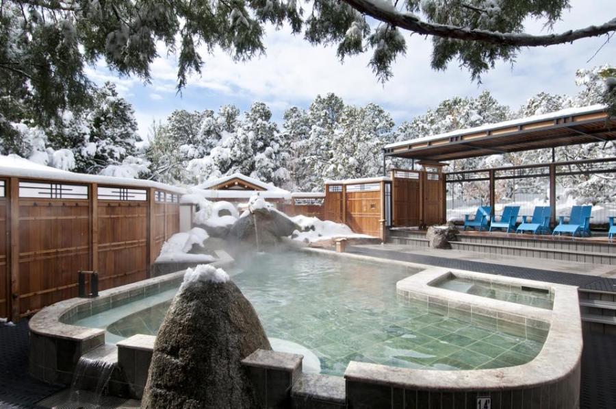 Ten Thousand Waves Winter Spa