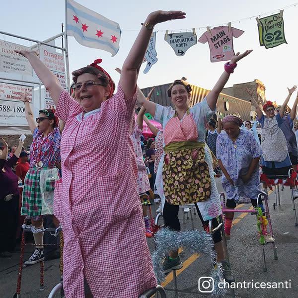Buscias at Pierogi Fest by chantricesanti