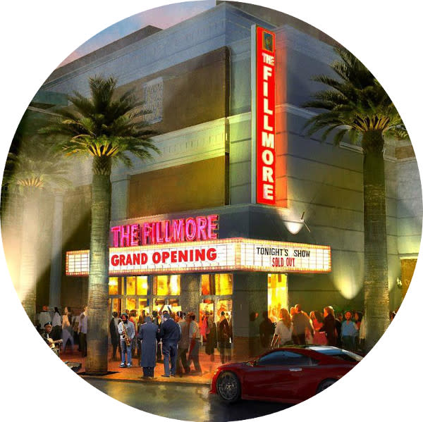 FIlmore Theater Rendering