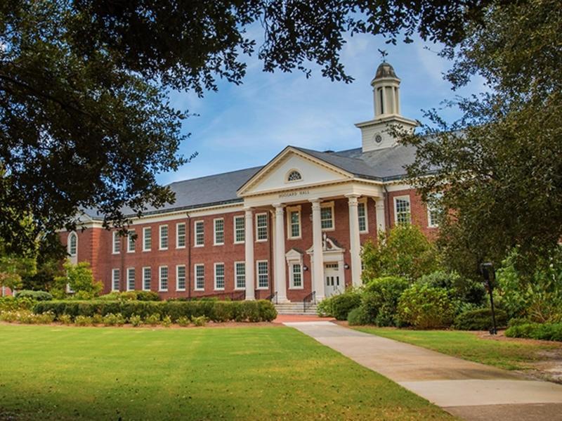 Exterior of Hoggard Hall at University of North Carolina, Wilmington