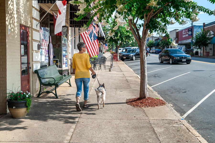 Strolling the streets of Rutherfordton