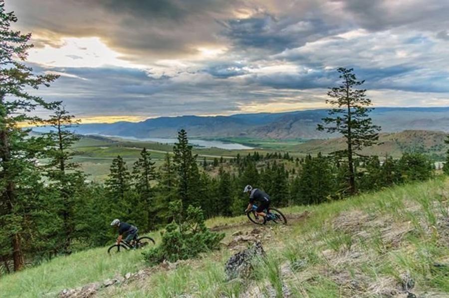 Biking Pineview