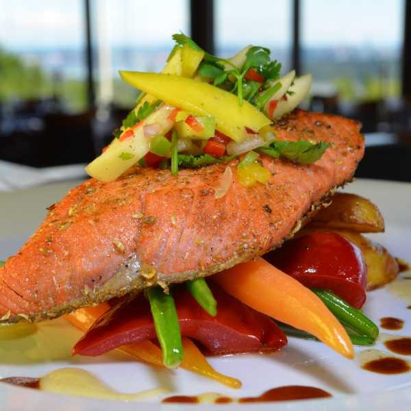Alder Grilled Wild Salmon