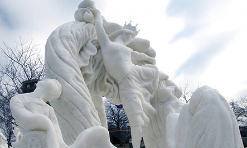 Winterfest Sculpture