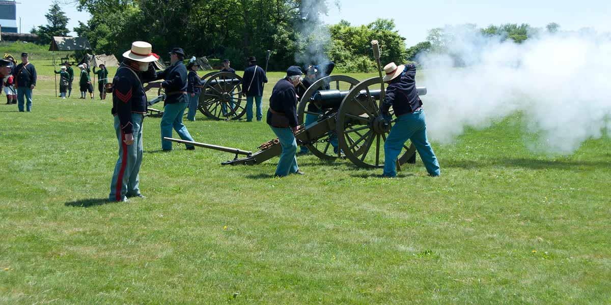 Army Heritage Days - civil war