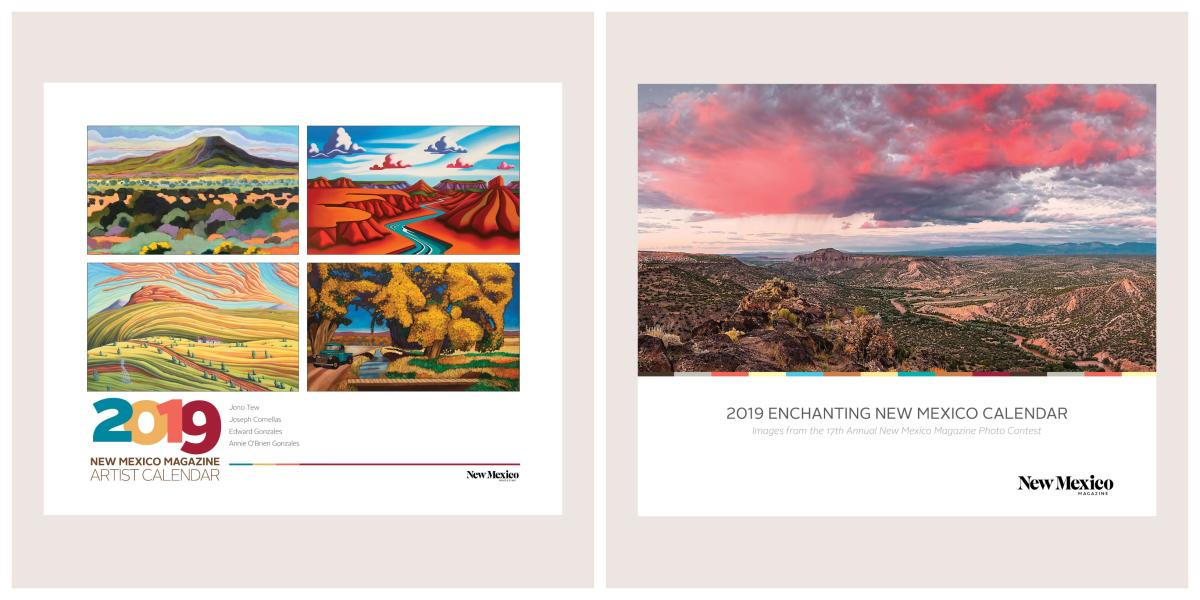 New Mexico Magazine 2019 Calendars