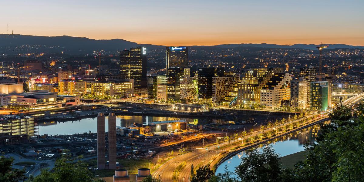 Storstadsljus i Oslo