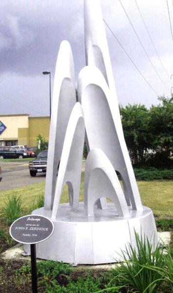 """Family"" sculpture"