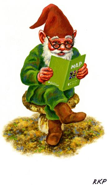 An elf at Denver Museum of Nature & Science