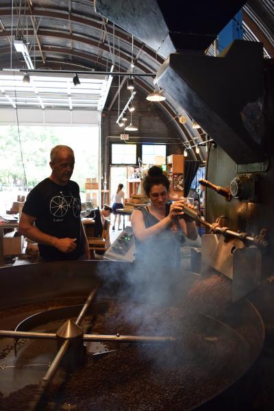 jittery joes roasting process