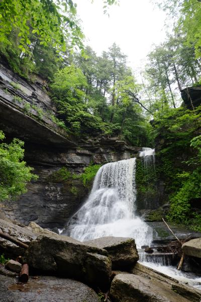 Waterfall at Fillmore Glen State Park in New York State