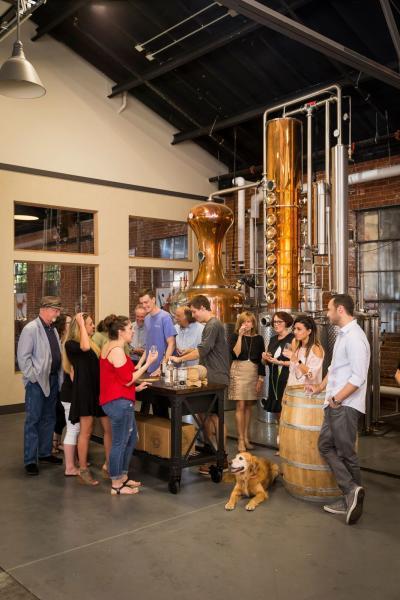 McClintock Distilling Tasting
