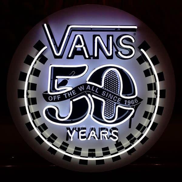 2016 marks 50 years of Vans