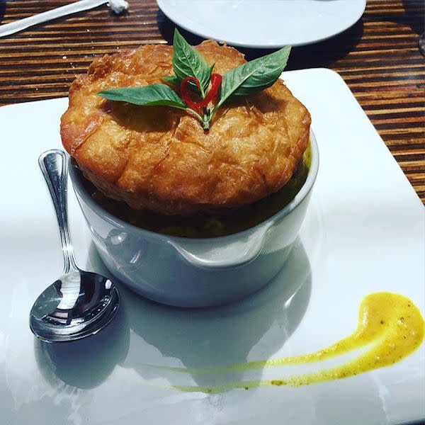 Yellow Curry Chicken Pot Pie photo by @ruki220