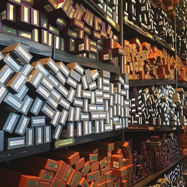 Olivander's Wand Shop photo by @beckabee