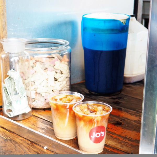 Two iced turbos from Jos Coffee