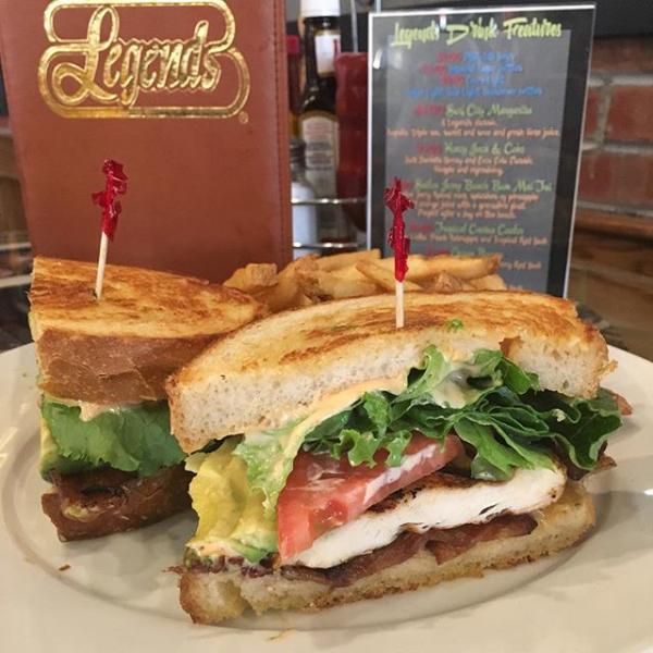 Cajun Chicken Sandwich Photo by @surfcityusa