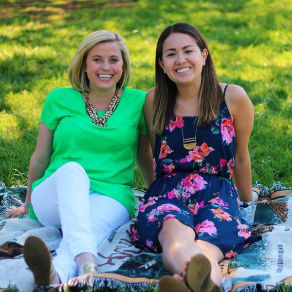 Megan Irvin & Kelsey Leavey of Let's Share a Dish