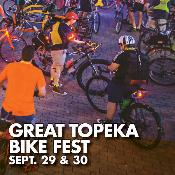 Great Topeka Bike Fest Sept. 29 & 30