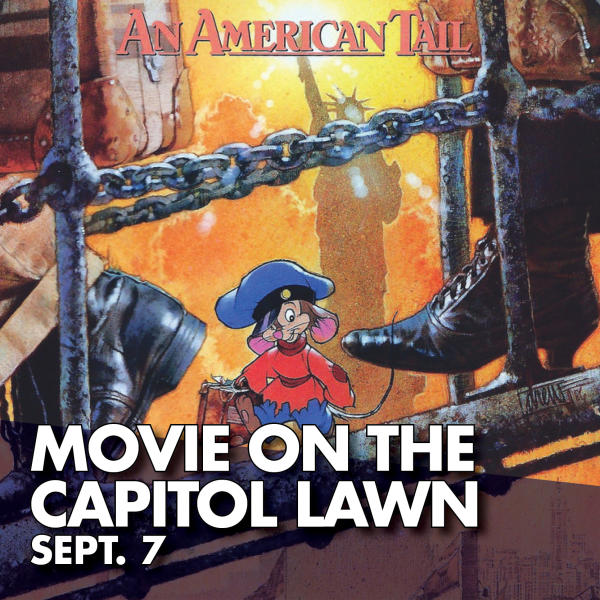 Movie on the Capitol Lawn Sept. 7