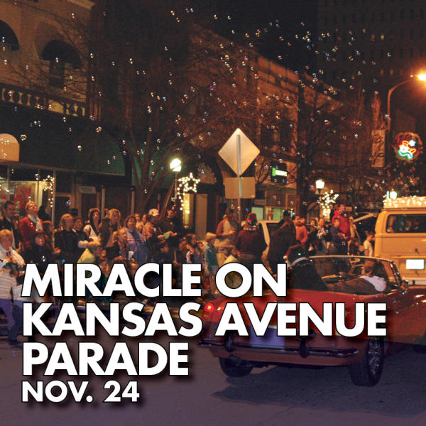 Miracle on Kansas Avenue Parade Nov. 24