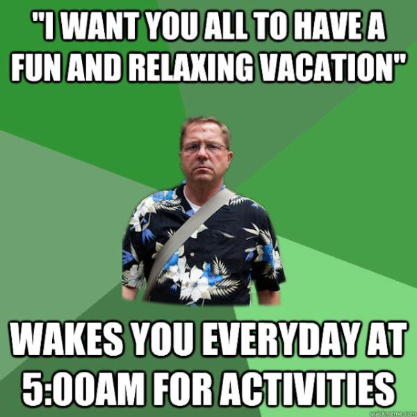 vacation meme
