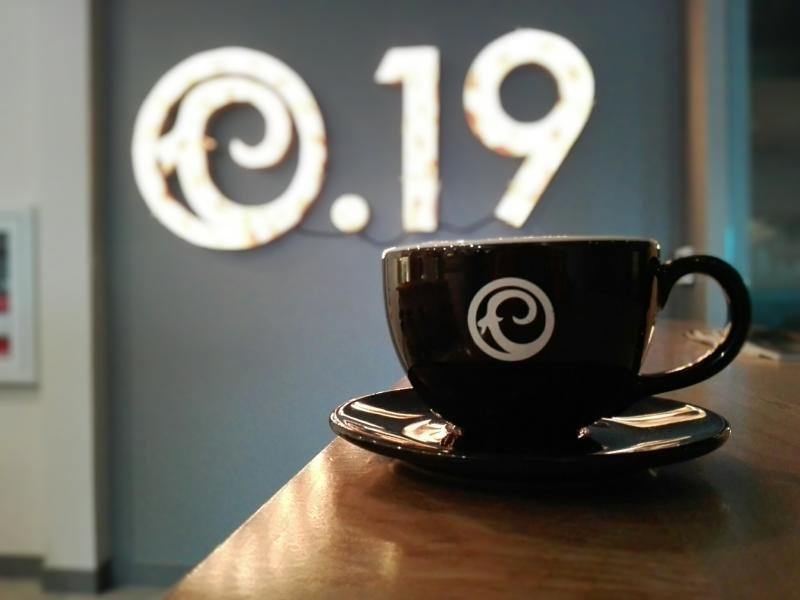 Craft 19 coffee shop in Sumner