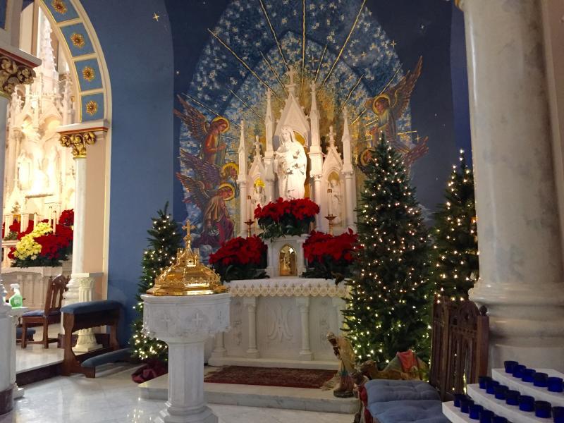 St. Joseph at Christmas